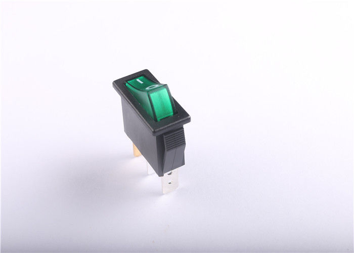 Anti Dumping Dpst Rocker Switch Illuminated 16A 21A For Power Tool